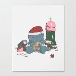 Godzelato! - Series 6: Recycle your city Canvas Print