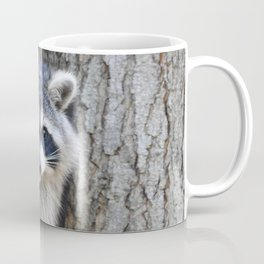 Raccoon Playing chase Coffee Mug
