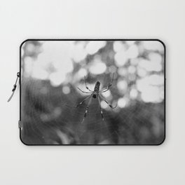 black and white spider Laptop Sleeve
