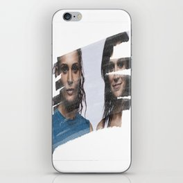 Bea & Franky iPhone Skin