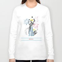 politics Long Sleeve T-shirts featuring Chicago Politics by AMP-CRAYON