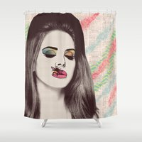 lana Shower Curtains featuring LANA #2 by Vita♥G