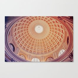 Dome full of colour Canvas Print