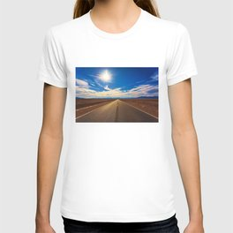 Desert Road on a Sunny Day T-shirt