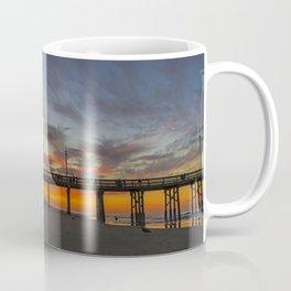 Pre Sunrise at Newport Pier Coffee Mug
