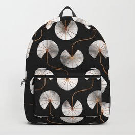 Abstract Ginkgo Leaves Pattern Backpack