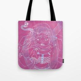 Plus Size Vixen: Gender XY Tote Bag