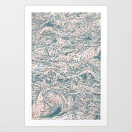 Victory at Sea Art Print