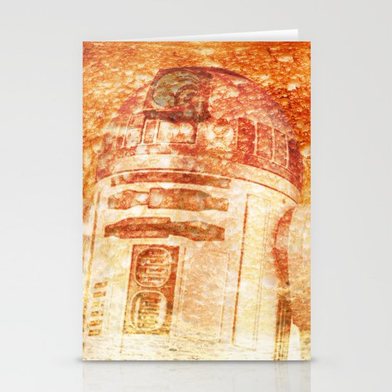 R2D2 toast Stationery Cards