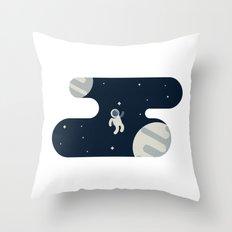 The Astronaut Throw Pillow