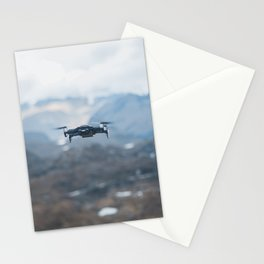 drone fly Stationery Cards