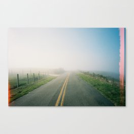 Road to Point Reyes  Canvas Print