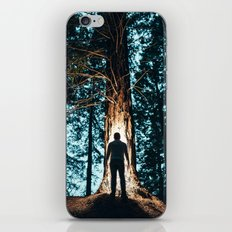 Shadow in the forest iPhone & iPod Skin