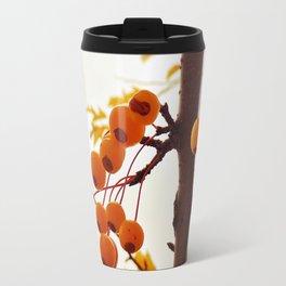 Golden Raindrops Travel Mug