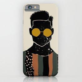 Black Hair No. 7 iPhone Case