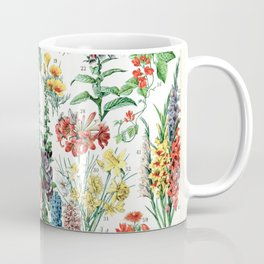 Adolphe Millot - Fleurs A - French vintage poster Coffee Mug