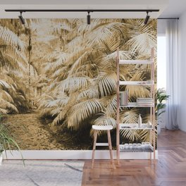 Subtropical vegetation Wall Mural