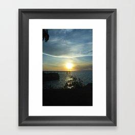 I got sunshine... on a cloudy day Framed Art Print