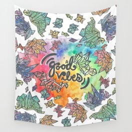 Good Vibes Only Wall Tapestry