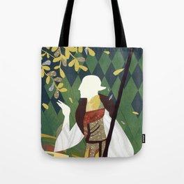 Dragon Age Solas Tarot Paper Art Tote Bag