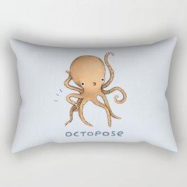 Octopose Rectangular Pillow