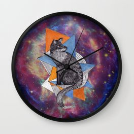 Space Zorritone Wall Clock