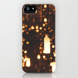 By Candlelight iPhone Case