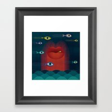 See World Framed Art Print