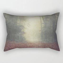 hOme - misty forest path Rectangular Pillow