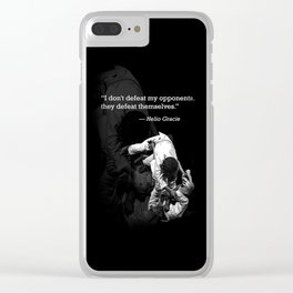 My Opponents. Clear iPhone Case