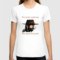 clint eastwood T-shirts featuring Clint Eastwood by Mr. Stonebanks
