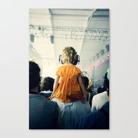 bon iver Canvas Prints featuring LuLu at Bon Iver by Pope Saint Victor