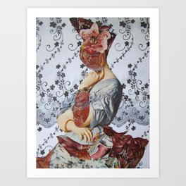 CONTESSA D'HASSONVILLE Art Print