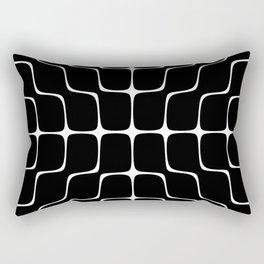 Energy Vibration 4. Frequency - Chladni - Cymatics Rectangular Pillow