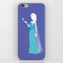Elsa from Frozen iPhone Skin