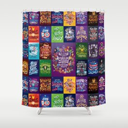 IW Complete set Shower Curtain