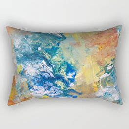 The love of universe Rectangular Pillow