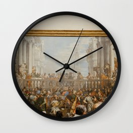 Art in Versailles, France | On vacation in Paris | Travel photography fine art print Wall Clock