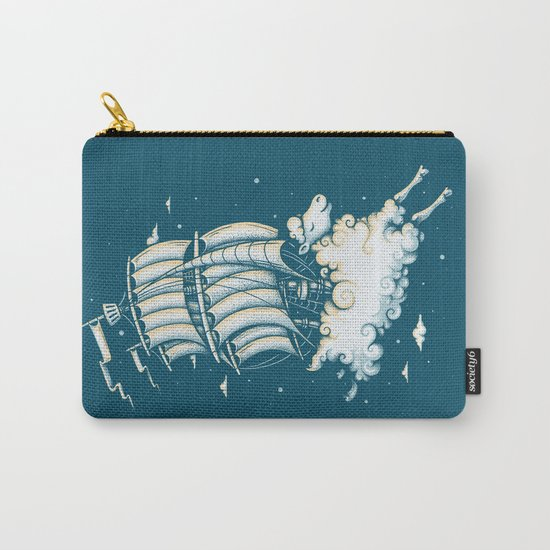 Shipped Away Carry-All Pouch
