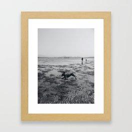 Jericho Beach Framed Art Print