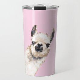 Sneaky Llama Travel Mug