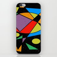 kandinsky iPhone & iPod Skins featuring Abstract #130 by Ron Trickett