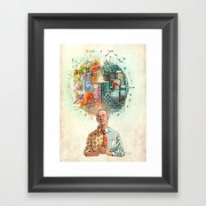 Right & Left Framed Art Print