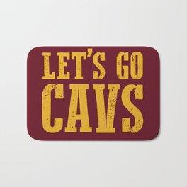 Let's Go CAVS NBA Design Bath Mat
