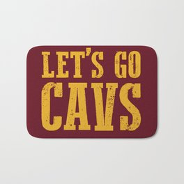 Let's Go CAVS NBA Design Bath Mat