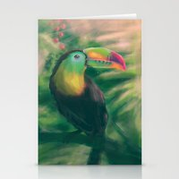 tropical Stationery Cards featuring Tropical by Ben Geiger