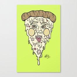 Pizza Face, Saywhhhhaaaaa? Canvas Print