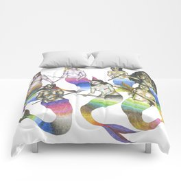 mermaids with spears Comforters