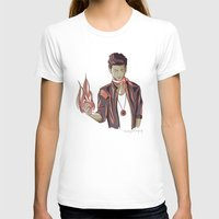 zayn T-shirts featuring Zayn Firebender by thestoryischanging