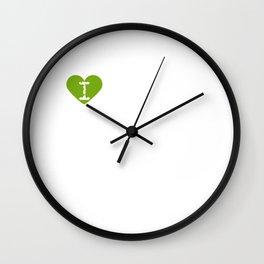 I Heart Ross Lilly | Love Ross Lilly Wall Clock